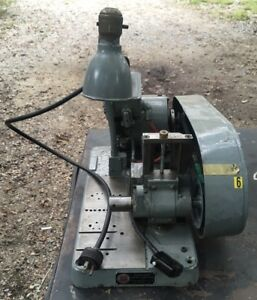 Hb Rouse Hand Mill Miller Bench Top Milling Machine Slitting Saw Etc