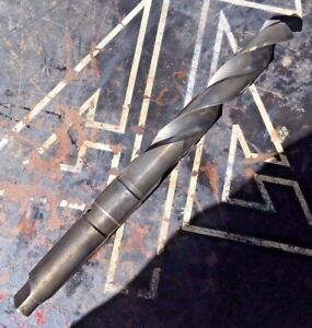 Nachi 1 3 16 M35 Drill Bit Oil Hole Mt Taper 4 Shank Coolant peddinghaus Cab