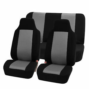 Highback Seat Covers Full Seat Front Rear For Auto Car Suv Van 8 Color Option