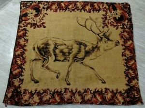 Antique Stroock Carriage Buggy Sleigh Blanket Horsehair Elk Picture Very Rare