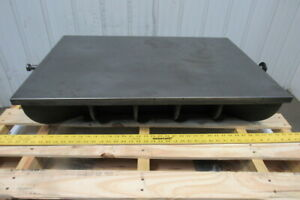 24 X 36 Cast Iron Webbed Calibration Lapping Surface Plate