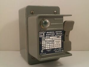 Square D Water Tight Motor Starting Switch 2510 Kw 1a