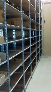 Backroom Shelving 24 Lozier Wood Shelving Lot 50 Used Store Fixture Shelves
