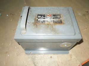 Bulldog Bp422 60a 3ph 4w 240v Ac Fusible Cover Operated Bus Plug Used E ok
