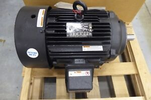 Marathon Mve256tpfsa10110a Severe Duty Electric Motor 20 Hp 256tc Fr 1800 Rpm