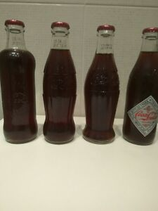 Coca Cola 125 years Collectable Bottles Rare - Last set!