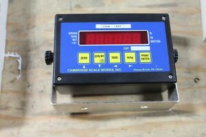 New Cambridge Csw 10at Digital Weigh Scale Indicator Ntep