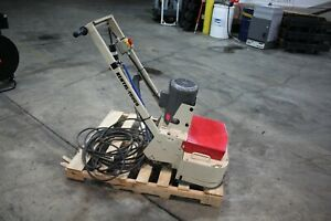 Edco 2ec Electric Dual Head Disk Concrete Floor Grinder 1 5hp 2ec 1 5b Nice