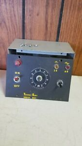 Staco Inc Voltage Regulator With Staco Type 171 Variable Transformer