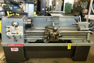 15 X 50 Clausing Colchester Lathe Inch mm 25 2000 Rpm Taper 30430