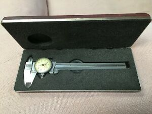 Starret 6 Dial Calipe Dial With Case