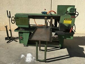 Doall Horizontal Metal Cutting Band Saw C 916