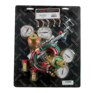 Gentec Small Torch Kit Oxy acetylene W tip 2 6 And Regulators 14 510