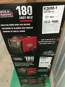 Lincoln Electric 180 Mig Welder New In Box K2698 1