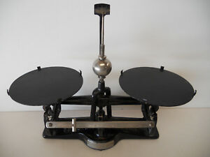 Antique The Torsion Balance Co Ny Cast Iron Scale 2 Lbs Vintage Pharmacy