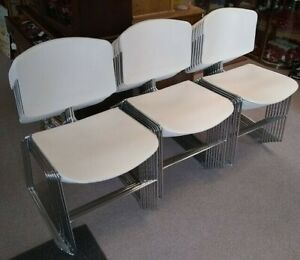 Steelcase Max stacker Iii Stackable Guest Office Chairs 22 Available Euc