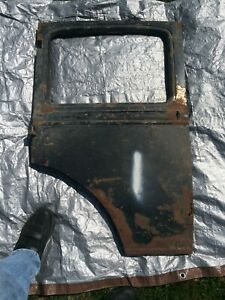 Ford Model A 4 Door Right Rear Door Assembly With Hinges 1930 1931