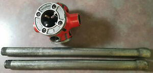 Ridgid 31 a 3 way Pipe Threader Die 1 2 3 4 1 Inch Works Great With Handles