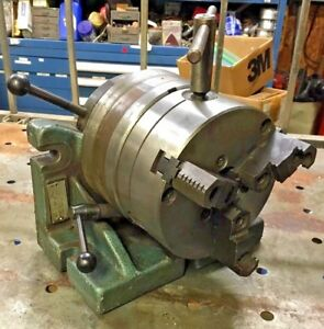Bison Horizontal Vertical H v Rotary Indexing Super Spacer 6 3 Jaw Chuck