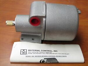 New Material Control Inc Src 1x Rotary Motion Switch 120vac 1000 Rpm Src1g