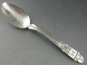 Sterling Gorham Souvenir Spoon 1894 Ny National Guard 23rd Regiment Armory