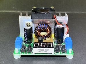 Yeeco Numerical Control Voltage Regulator Dc To Dc Buck Converter Board 8a