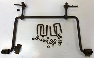 1940 Chevrolet Straight Axle Front Stabilizer Bar W U Bolts For Parts Restore