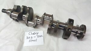 Z28 302 Or 283 Chevy Forged Crankshaft Fresh Grind Sm Journal