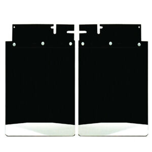 Dually Rear Mud Flaps For Chevy 2005 2007 20 Wide Stainless Anchor Weights