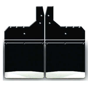 24 Wide Rear Dually Off Set Mud Flaps Universal Fit Ford Chevy Dodge