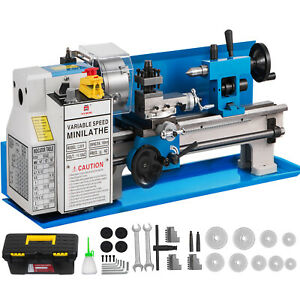 7 X 14 Mini Metal Lathe 550w Precision Variable Speed 2250 Rpm 0 75hp