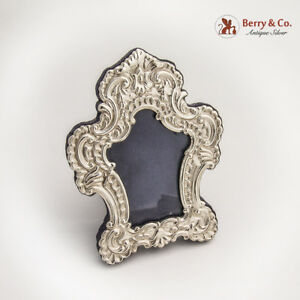 Ornate Picture Frame Italian Sterling Silver