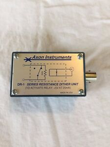 Axon Instruments Molecular Devices Dr 1 Series Resistance Dither Unit Axopatch