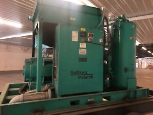 Sullivan Palatek 350 Hp 350ud Rotary Screw Air Compressor Sullair Ingersoll Rand