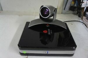 Polycom Hdx 8000 Video Conference System Conferencing Equipment With Camera