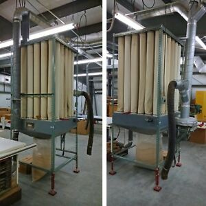 Dust Collector Wood Shop Woodworking System Custom Please Read See Photos 710907