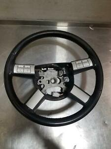 06 Dodge Charger Hemi Daytona Edition Steering Wheel Red Stitch