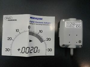 Maxum Digital Electronic Indicator 0001 Mahr Federal Dei 11121