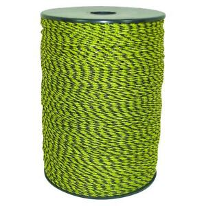 1312 Ft Polywire Electric Fence Livestock Horse Security Wires Yellow Black