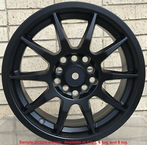 4 New 17 Wheels Rims For Saleen S281 S302 Lincoln Mkt Mkx Mkz Town Car 31510