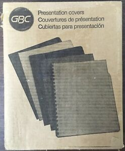 Swingline Gbc Linen Weave standard Presentation Covers 2000513