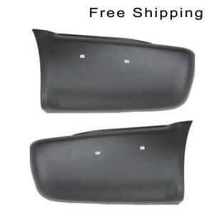 Rear Lh And Rh Side Bumper End With Side Molding Holes Fits Blazer Ls Lt Models