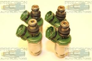 Set Of 4 Asnu Rebuilt Genuine Toyota Oem 23250 74100 Fuel Injectors