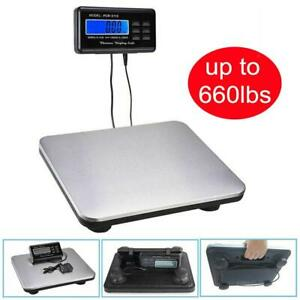 660lb X 0 1lb Digital Floor Platform Postal Scale Shipping Weight 300kg 10582oz