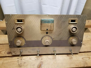 Maico Hearing Instruments Inc Audiometer Vintage Tube Amp H 2