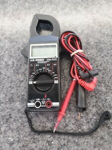 A w Sperry Dsa 600 600 ampere Digital Clamp Multimeter Free Shipping