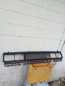 Used Grille Pickup Black For Datsun 720 Truck 1983 84 1985 1986 4x4
