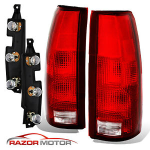 88 99 Tail Lights Pair For Chevy gmc Silverado Tahoe Sierra Connector Circuit