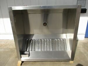 Stainless Steel 56 Restaurant Vent Hood Exhaust System 4105