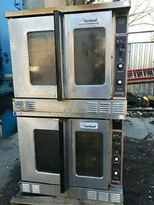 2 Stack Garland Convection Natural Gas Master 200 Mco gd 10s Commercial Ovens